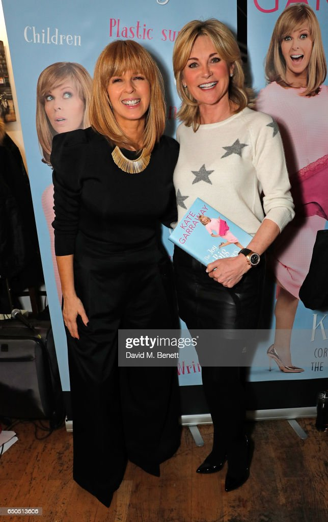 """""""The Joy Of Big Knickers (Or Learning How To Love The Rest Of Your Life)"""" By Kate Garraway - Book Launch : News Photo"""