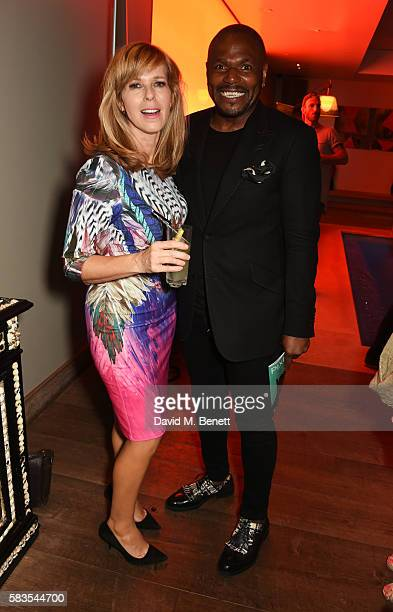 Kate Garraway and Anton Stephens attend the press night after party for 'Breakfast at Tiffany's' at the The Haymarket Hotel on July 26 2016 in London...