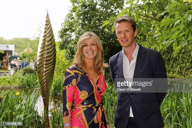 Kate Garraway and garden designer Andrew Duff attends 'The Savills and David Harber Garden' which celebrates the environmental benefit and beauty of...