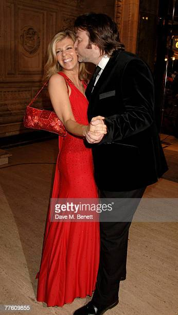 Kate Garraway and her husband Derek Draper arrive at the National Television Awards 2007 at the Royal Albert Hall on October 31 2007 in London England