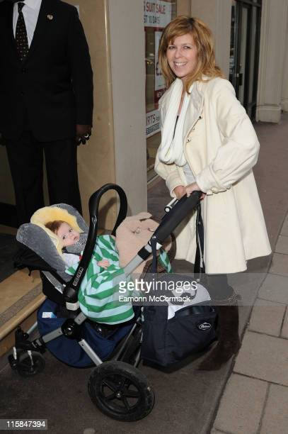 Kate Garraway and her son Billy attend The Princess And The Frog special event at The Mayfair Hotel on January 24 2010 in London England