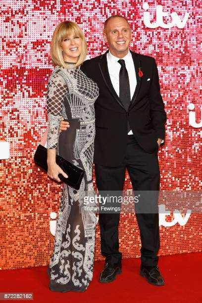 Kate Garraway and Robert Rinder arriving at the ITV Gala held at the London Palladium on November 9 2017 in London England