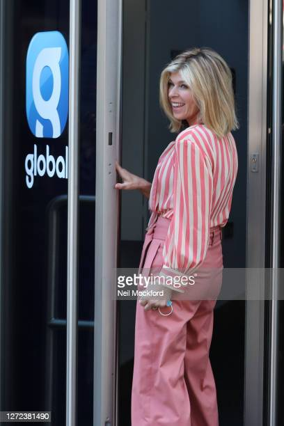 Kate Garraway arrives at Smooth Radio Studios on September 14 2020 in London England