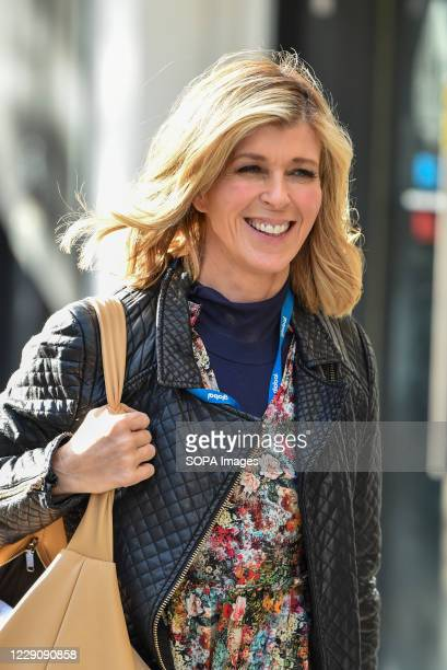 Kate Garraway arrives at the Global Radio studios for her Smooth radio show in London.