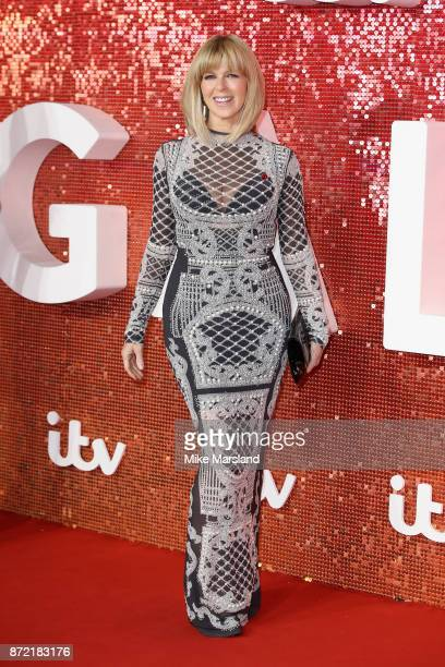 Kate Garraway arrives at the ITV Gala held at the London Palladium on November 9 2017 in London England