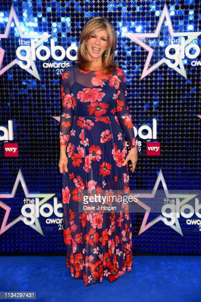 Kate Garraway arrives at the The Global Awards with Verycouk at Eventim Apollo Hammersmith on March 07 2019 in London England