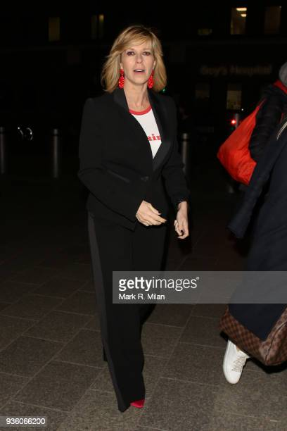 Kate Garraway attending the OK Magazine's 25th anniversary party at the Shard on March 21 2018 in London England