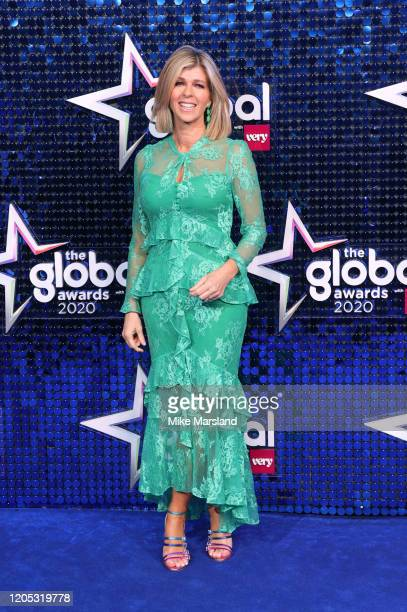 Kate Garraway attends The Global Awards 2020 at Eventim Apollo Hammersmith on March 5 2020 in London England