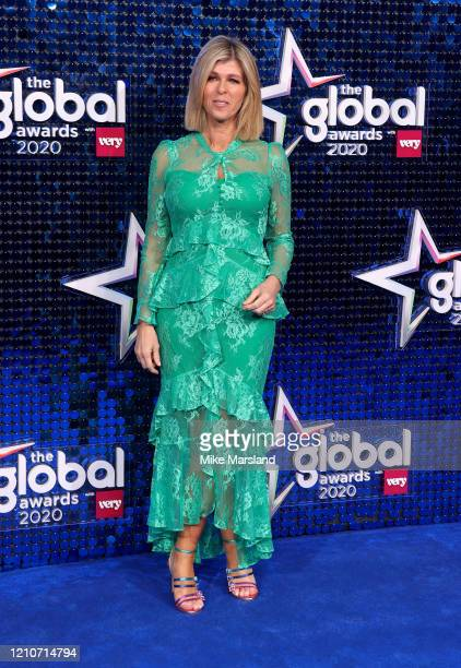 Kate Garraway attends The Global Awards 2020 at Eventim Apollo, Hammersmith on March 05, 2020 in London, England.