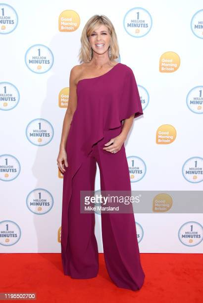 Kate Garraway attends the Good Morning Britain 1 Million Minutes Awards at Studio Works on January 23 2020 in London England