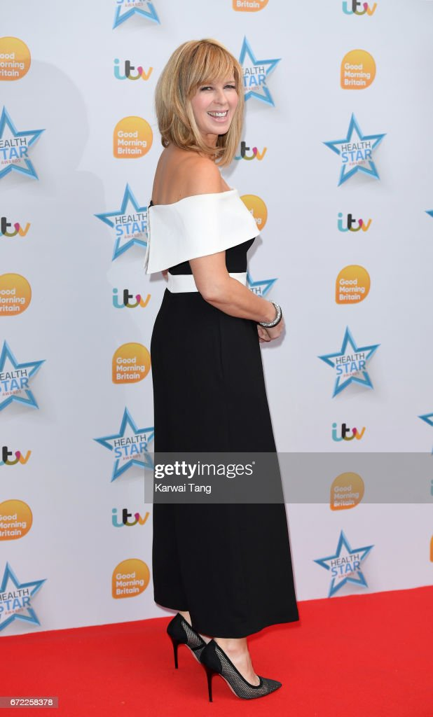 Kate Garraway attends the Good Morning Britain Health Star Awards at the Rosewood Hotel on April 24, 2017 in London, United Kingdom.