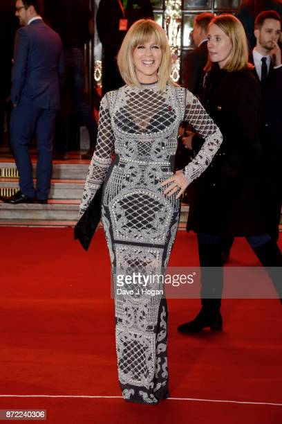 Kate Garraway attends the ITV Gala held at the London Palladium on November 9 2017 in London England