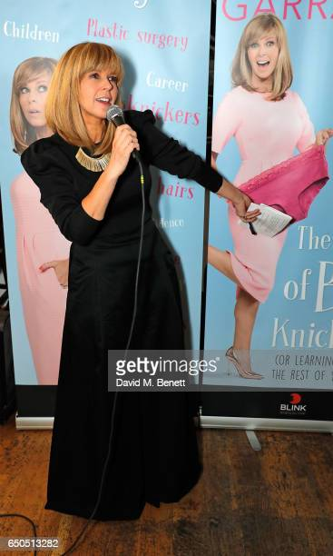Kate Garraway attends the launch of Kate Garraway's new book 'The Joy Of Big Knickers ' at Waterstones Piccadilly on March 9 2017 in London England