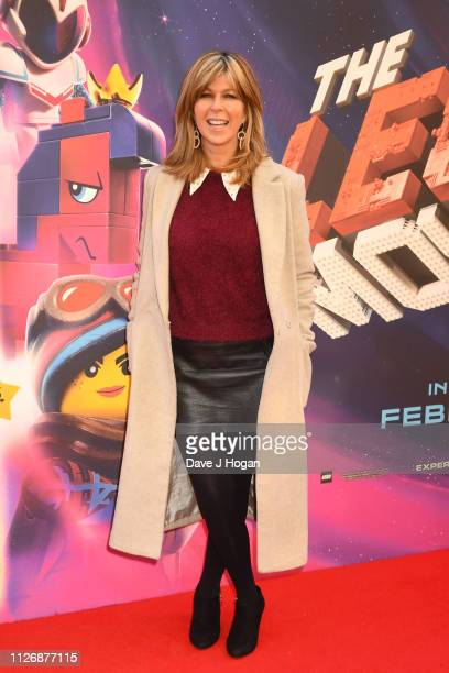 Kate Garraway attends the multimedia screening of The Lego Movie 2 The Second Part at Cineworld Leicester Square on February 02 2019 in London England