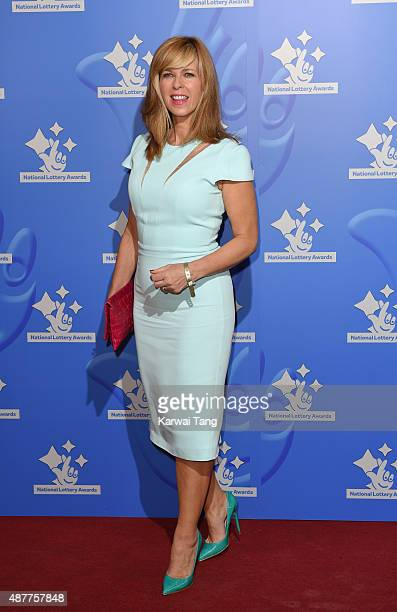 Kate Garraway attends the National Lottery Awards at The London Television Centre on September 11 2015 in London England