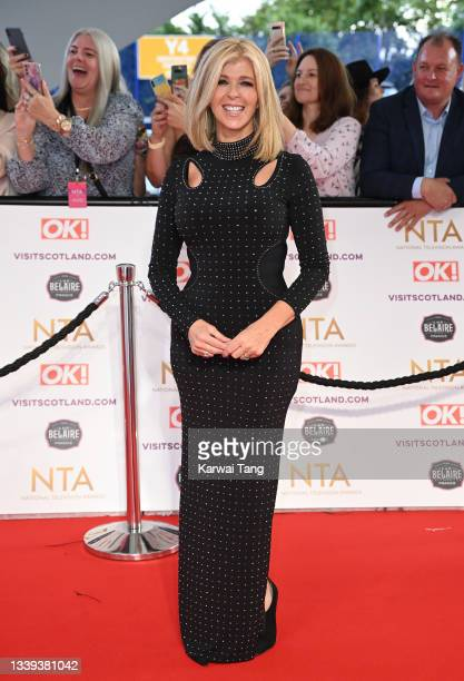 Kate Garraway attends the National Television Awards 2021 at The O2 Arena on September 09, 2021 in London, England.