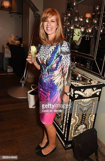 Kate Garraway attends the press night after party for 'Breakfast at Tiffany's' at the The Haymarket Hotel on July 26 2016 in London England