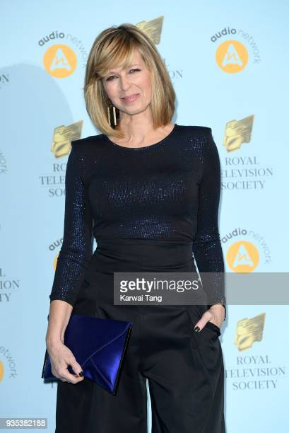 Kate Garraway attends the RTS Programme Awards held at The Grosvenor House Hotel on March 20 2018 in London England