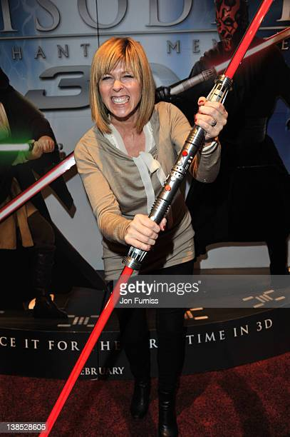 Kate Garraway attends the special screening of 'Star Wars Episode I The Phantom Menace 3D' at Empire Leicester Square on February 8 2012 in London...