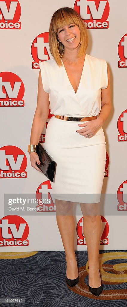 Kate Garraway attends the TV Choice Awards 2014 at the London Hilton on September 8, 2014 in London, England.