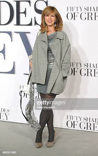 Kate Garraway attends the UK Premiere of 'Fifty Shades Of Grey' at Odeon Leicester Square on February 12 2015 in London England