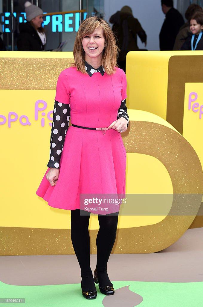 Peppa Pig Golden Boots - UK Premiere : News Photo