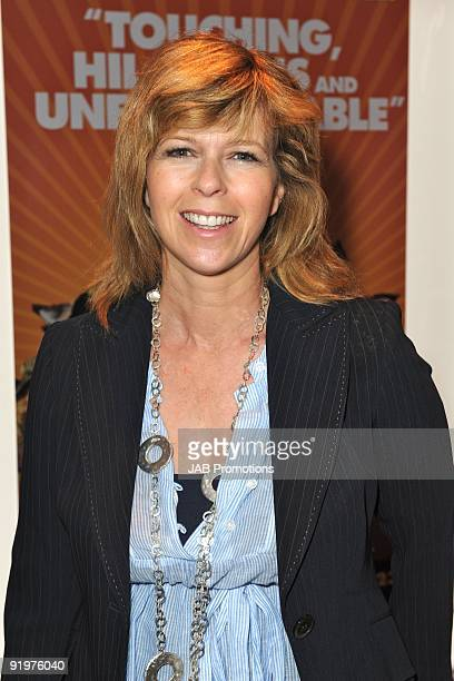 Kate Garraway attends the VIP screening of Fantastic Mr Fox at Odeon West End on October 18 2009 in London England