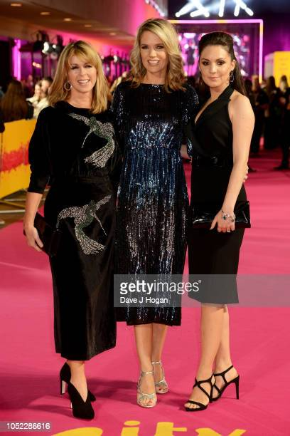 Kate Garraway Charlotte Hawkins and Laura Tobin attend the ITV Palooza held at The Royal Festival Hall on October 16 2018 in London England