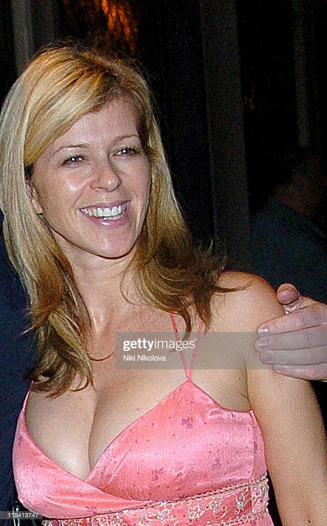 Kate Garraway Sighting at The Ivy in London - August 17, 2005 : News Photo