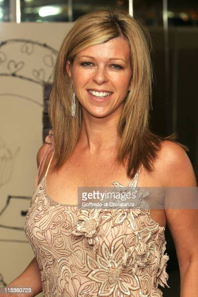 Kate Garraway during The Chocolate Ball in Aid of Sargent's Cancer Care at The Dorchester Hotel in London Great Britain