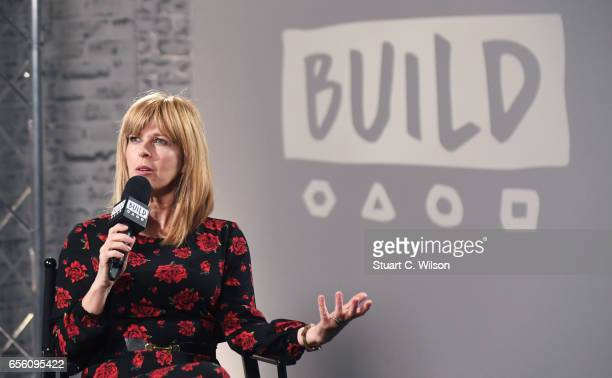 Kate Garraway joins BUILD for a live interview at their London studio at AOL on March 21 2017 in London United Kingdom