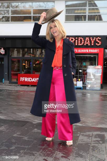 Kate Garraway returns to Smooth Radio after her time on 'I'm A Celebrity...Get Me Out Of Here!' on December 16, 2019 in London, England.
