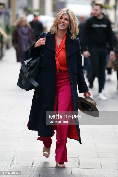 Kate Garraway returns to Smooth Radio after her time on 'I'm A CelebrityGet Me Out Of Here' on December 16 2019 in London England