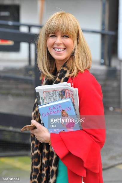 Kate Garraway seen after she had appeared on the Loose Women show on March 6 2017 in London England