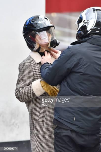 Kate Garraway seen arriving at the Global Radio Studios on January 20 2020 in London England