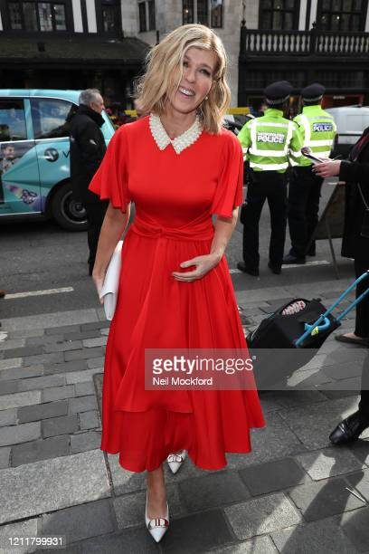 Kate Garraway seen arriving for The Prince's Trust Awards at the London Palladium on March 11 2020 in London England