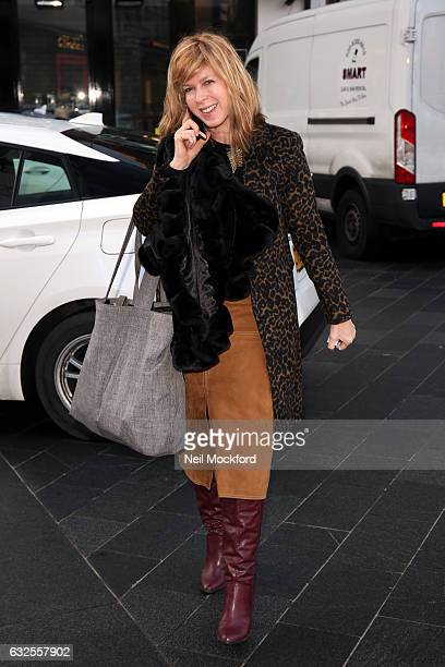 Kate Garraway seen at Capital Radio on January 24 2017 in London England