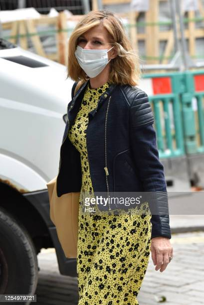 Kate Garraway sighting on July 08 2020 in London England