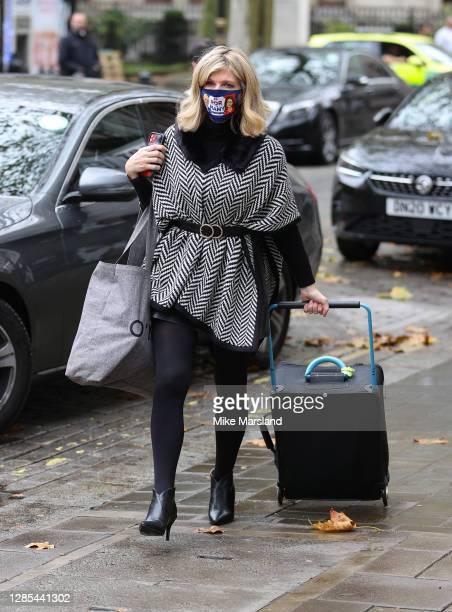 Kate Garraway sighting on November 13, 2020 in London, England.