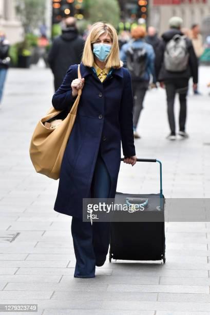 Kate Garraway sighting on October 09, 2020 in London, England.