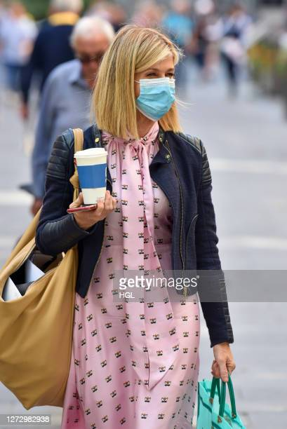 Kate Garraway sighting on September 17 2020 in London England