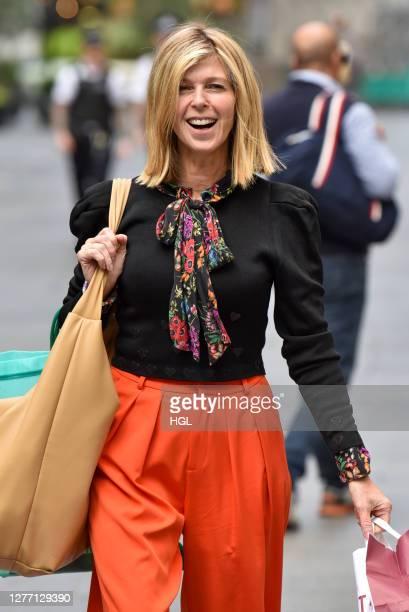 Kate Garraway sighting on September 28 2020 in London England