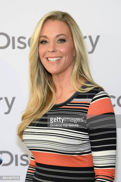 Kate Gosselin attends the Discovery Upfront 2018 at the Alice Tully Hall at Lincoln Center on April 10 2018 in New York City