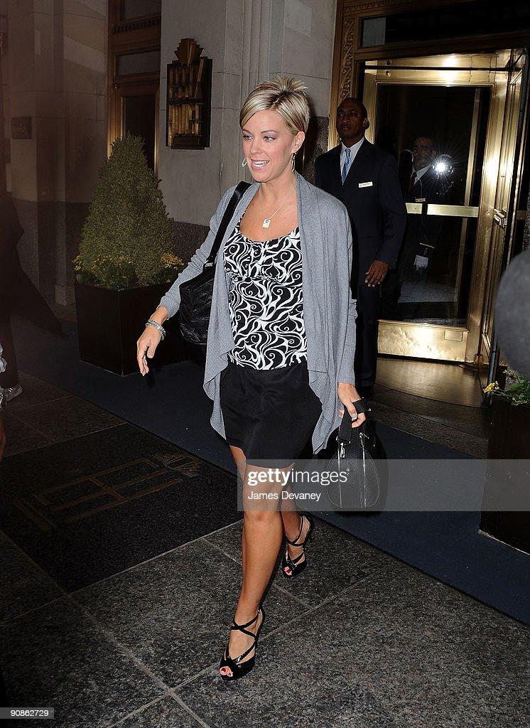 Celebrity Sightings In New York - September 16, 2009 : News Photo