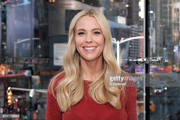 Kate Gosselin visits Extra at their New York studios at HM in Times Square on November 18 2016 in New York City