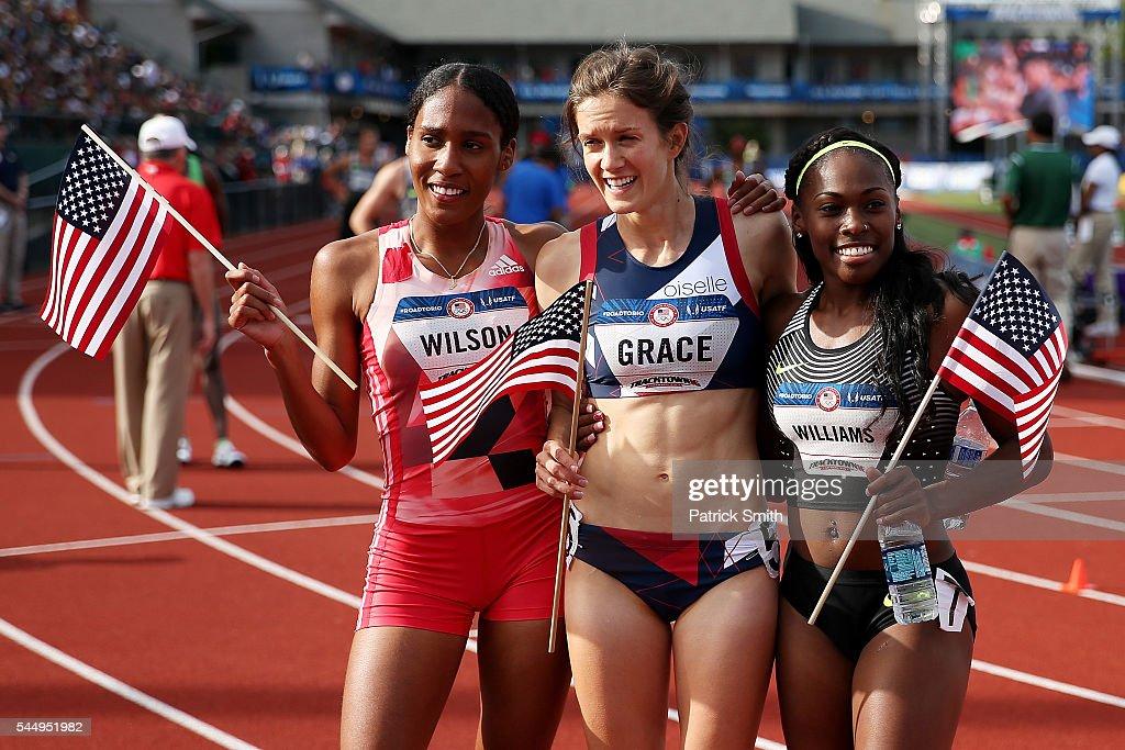 2016 U.S. Olympic Track & Field Team Trials - Day 4 : News Photo