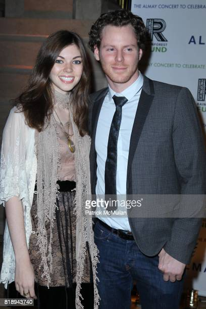 Kate Harlen and Sean Parker attend THE ALMAY CONCERT to Celebrate the RAINFOREST FUND'S 21st Birthday at The Plaza Hotel on May 13th 2010 in New York...