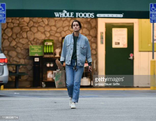 Kate Harrison is seen on April 20 2019 in Los Angeles California