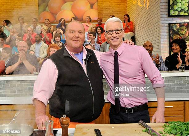 THE CHEW Kate Hudson and Anderson Cooper are guests on THE CHEW airing Friday April 29 2016 The Chew airs MONDAY FRIDAY on the ABC Television Network...