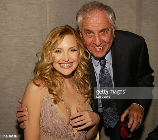 Kate Hudson and director Garry Marshall during Premiere of Raising Helen AfterParty at The Highlands Nightclub in Hollywood California United States